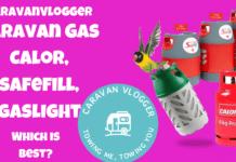 Caravan Gas Bottles