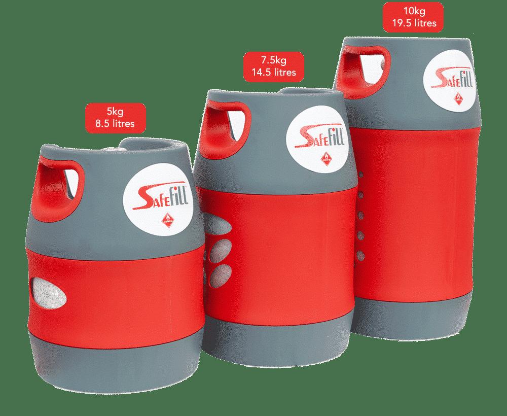 Safill Gas Bottles