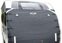 Defender Caravan Universal Front Towing Cover