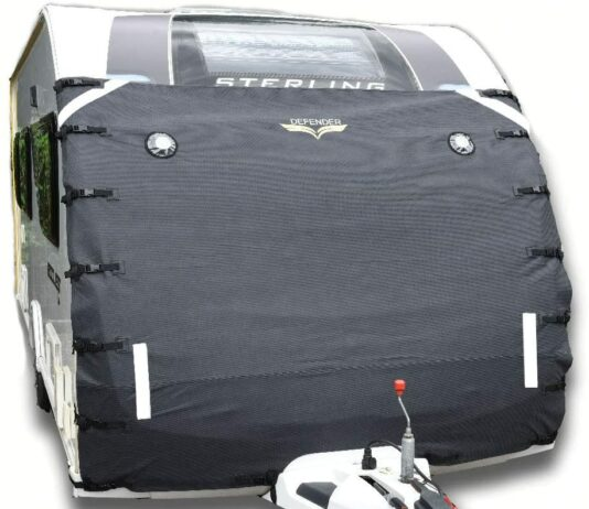 Defender Caravan Universal Front Towing Cover