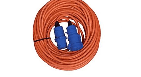 25m Caravan Mains Electric Hook Up Cable